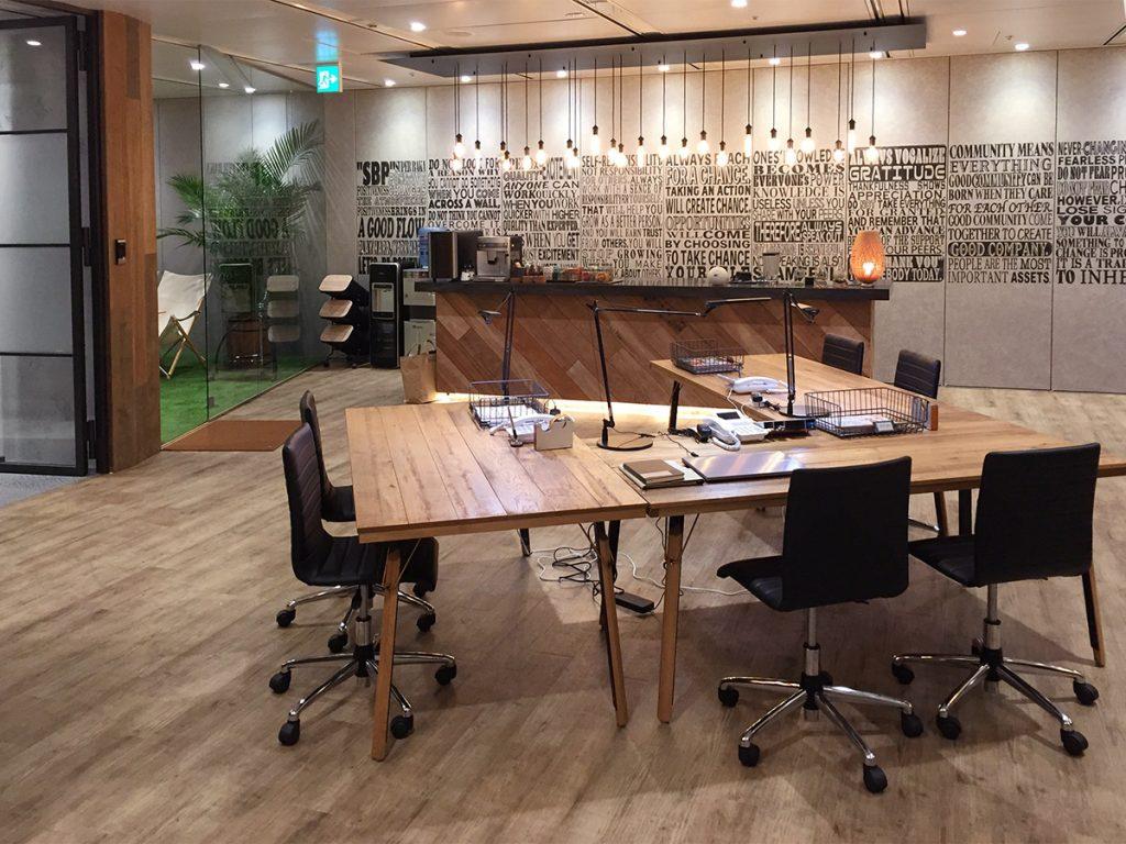 ドラマ「引き抜き屋」オフィス撮影セット写真