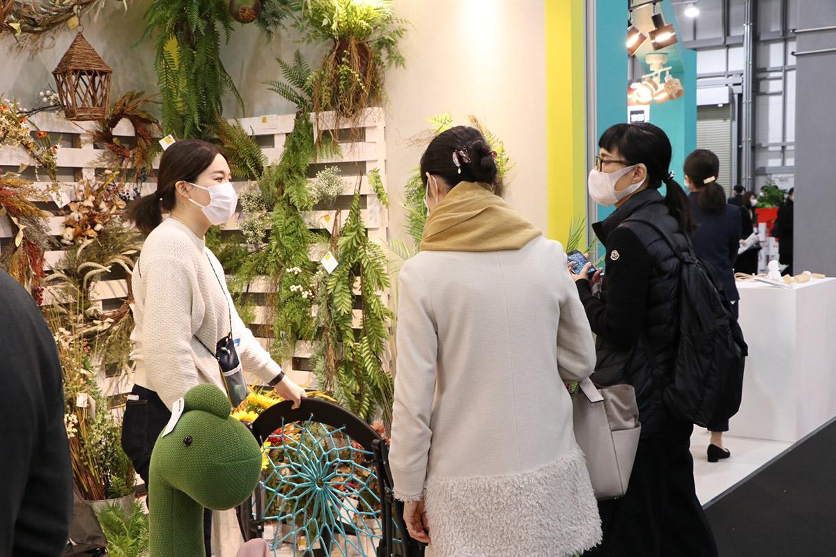 東京ギフト・ショー会場写真4:関家具ブース