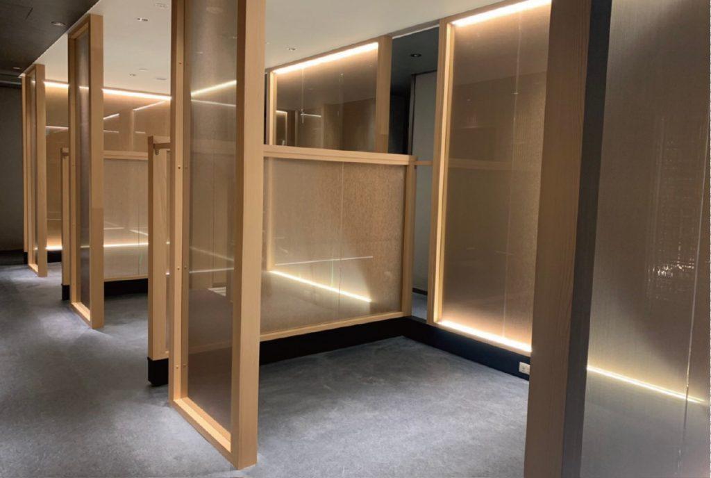 名古屋観光ホテル内 日本料理「呉竹」リニューアル内装写真