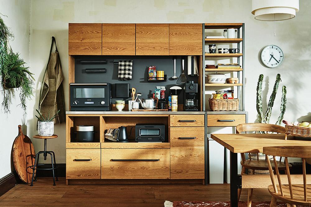 キッチン収納アトランダム&ガルバ