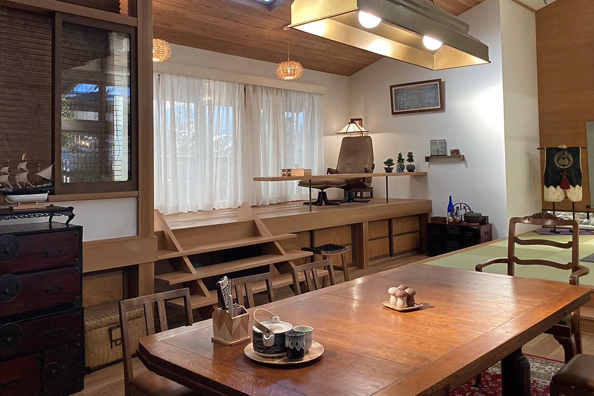 NHK朝ドラ「おかえりモネ」新田サヤカ邸セット写真001