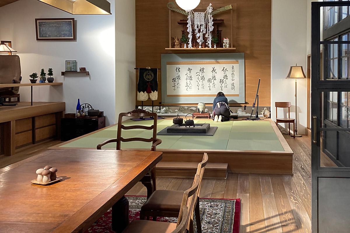 NHK朝ドラ「おかえりモネ」新田サヤカ邸セット写真003